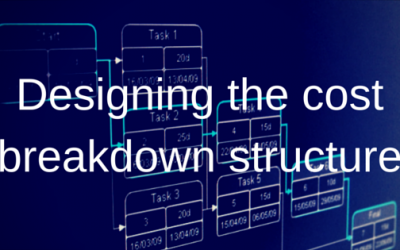 Three principles to use when designing the cost breakdown structure